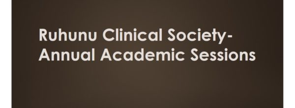 Annual Academic Sessions 2017