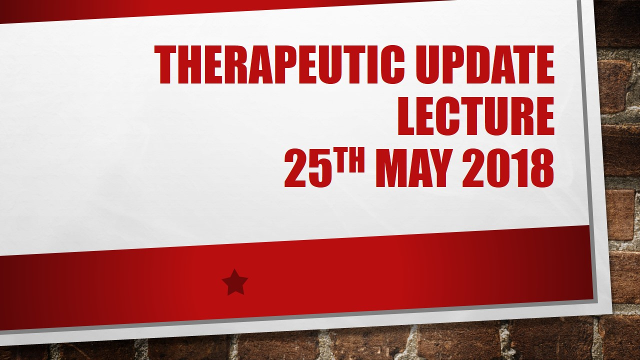 Therapeutic Update Lecture