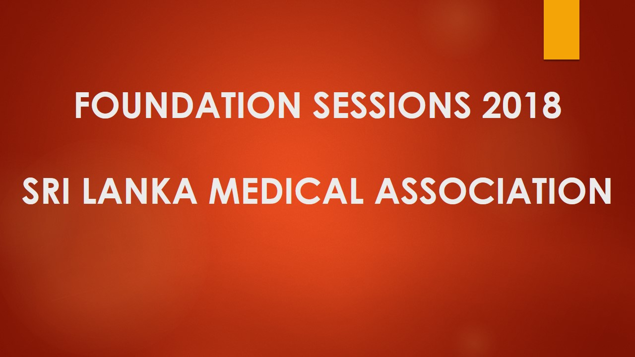 Foundation Sessions 2018