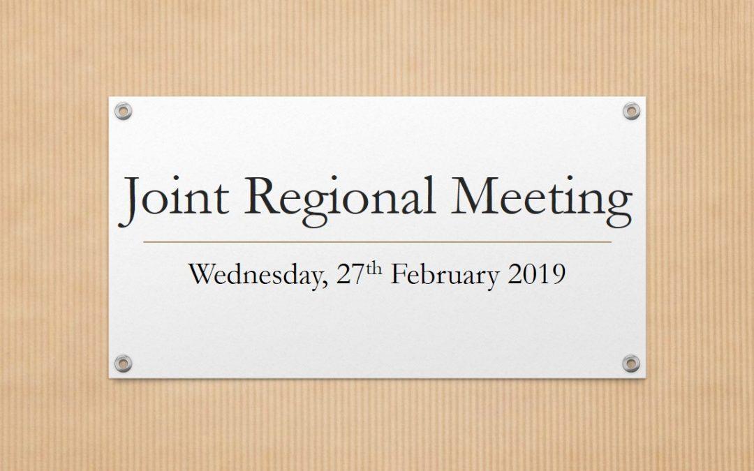 Joint Regional Meeting – Homagama