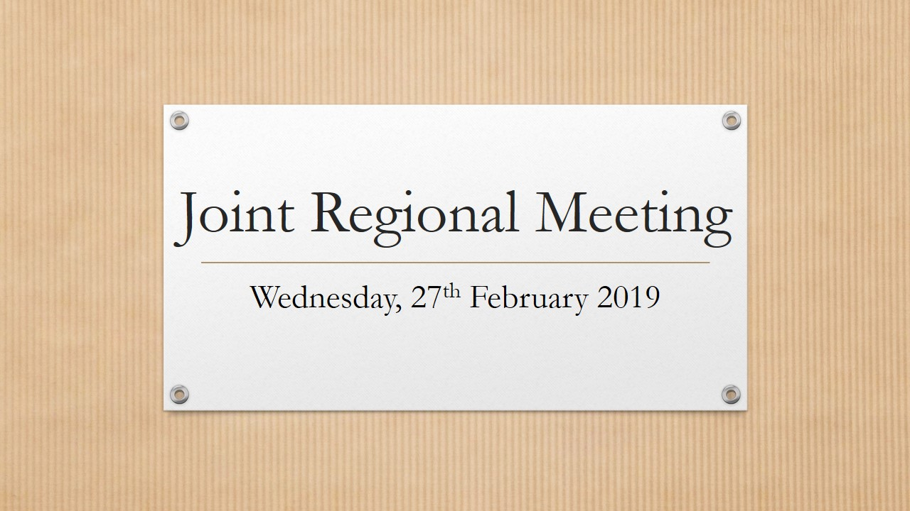 Joint Regional Meeting – Homagama