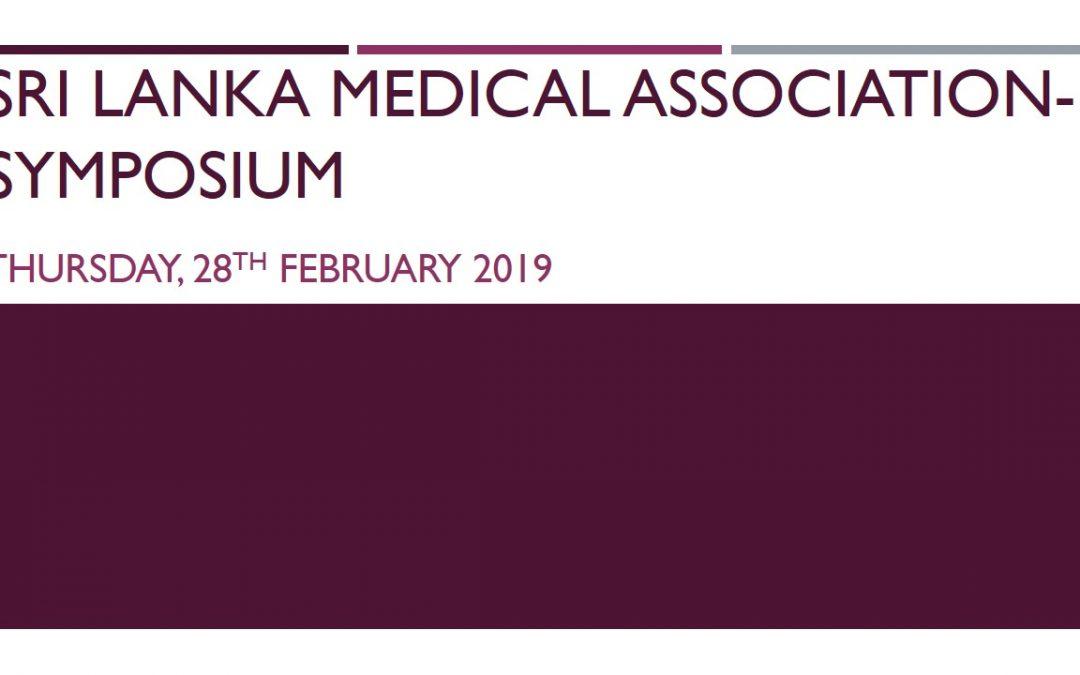 Sri Lanka Medical Association – Symposium