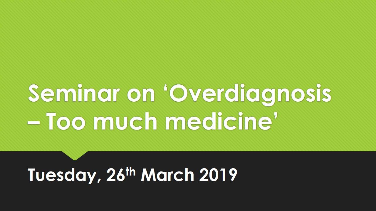 Sri Lanka Medical Association – Seminar