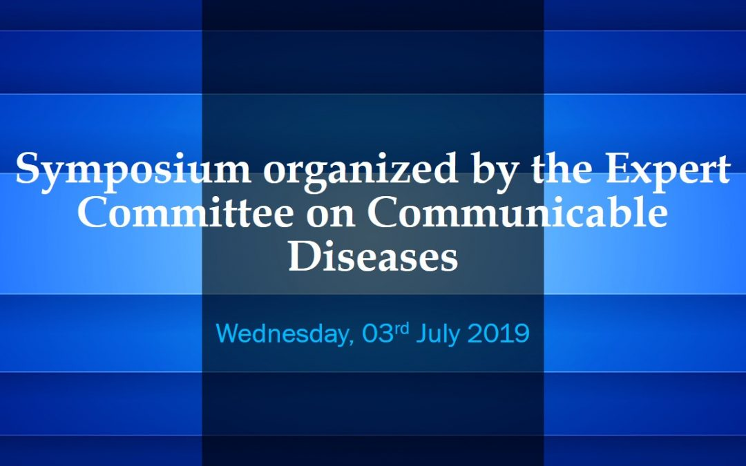 Symposium organized by the Expert Committee