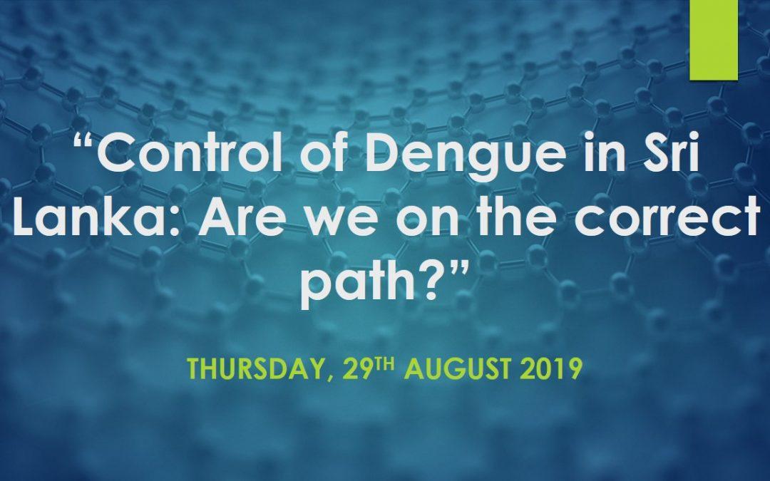 """""""Control of Dengue in Sri Lanka"""""""