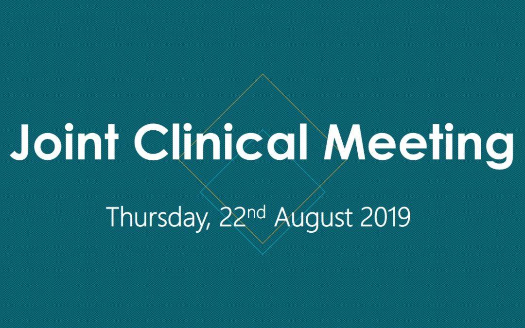 Joint Clinical Meeting – Ratnapura