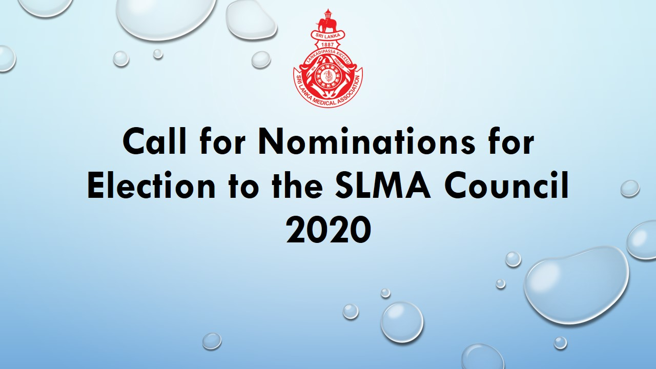 Call for Nominations for Election to the SLMA Council 2020