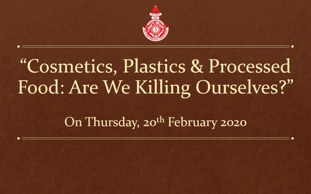 """Cosmetics, Plastics & Processed Food: Are We Killing Ourselves?"""
