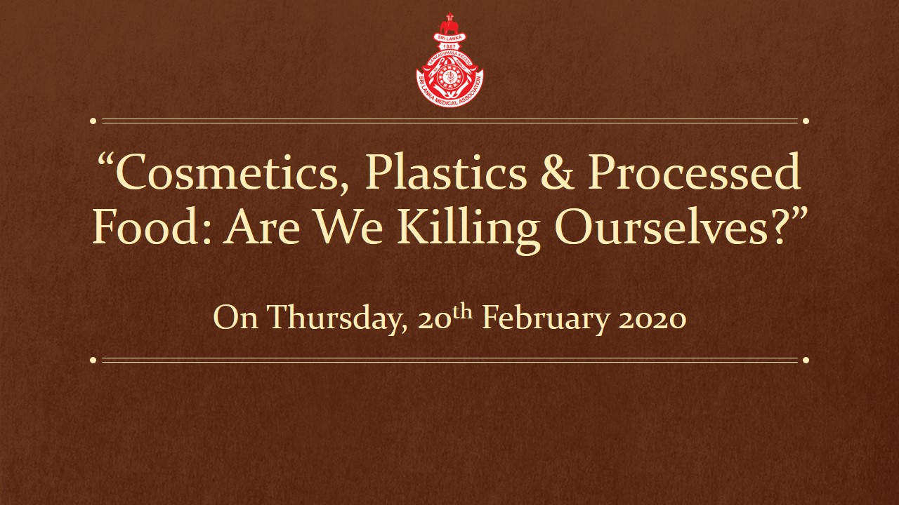 """Cosmetics, Plastics & Processed Food: Are We Killing Ourselves?"""