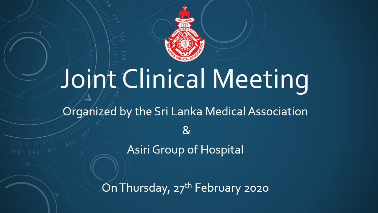 Joint Clinical Meeting – Asiri Group of Hospital