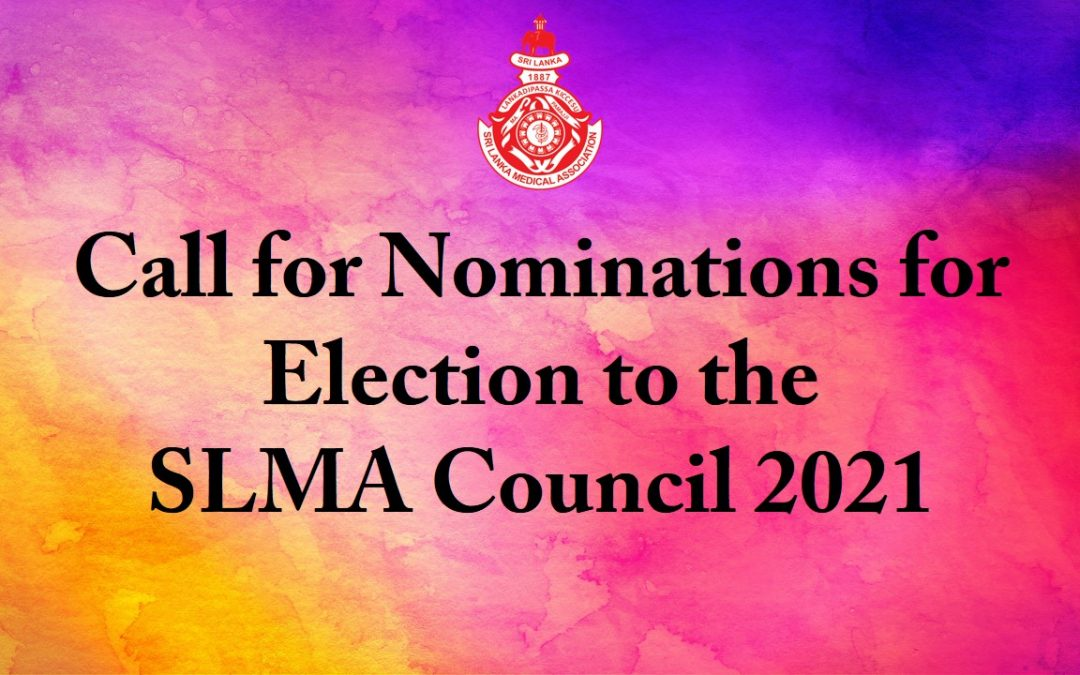 Call for Nominations for Election to the SLMA Council 2021