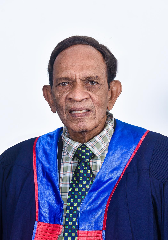 Deshamanya Vidya Joythi Dr JB Peiris