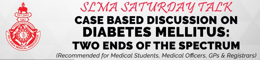 Saturday Talk – Diabetes mellitus: two ends of the spectrum