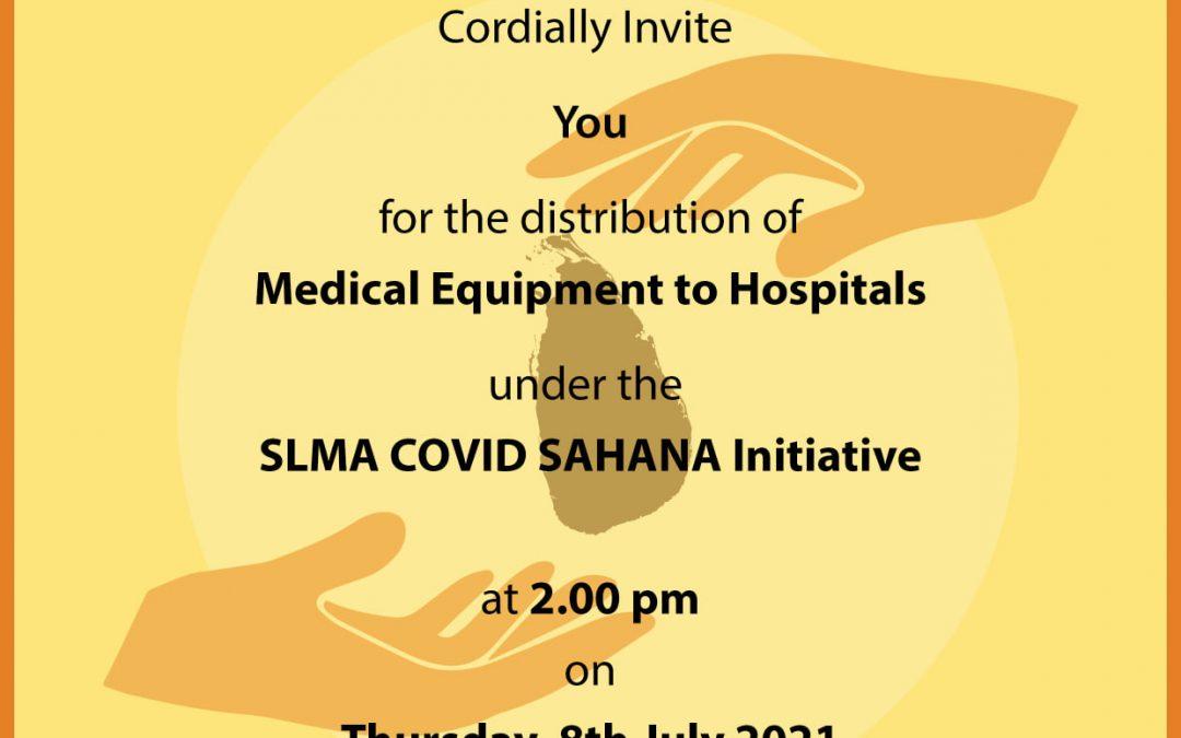 COVID Sahana Distribution