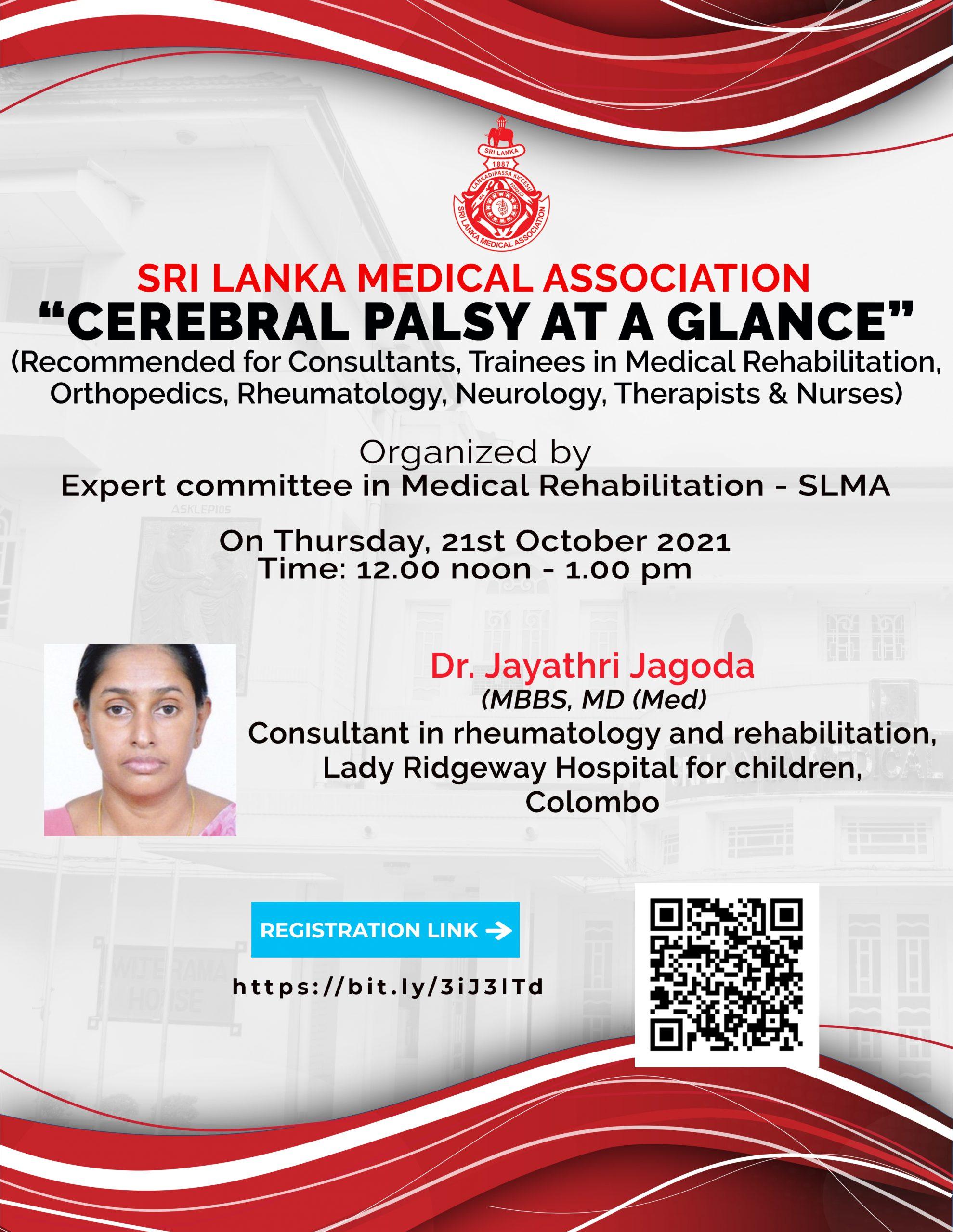 """Cerebral Palsy at a glance"""